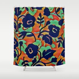 Cool Colors Shower Curtain