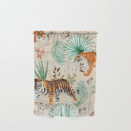 Tropical & Tigers Wall Hanging