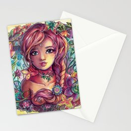 Spring Young Fairy Stationery Cards