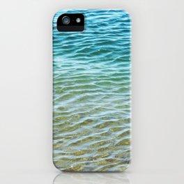 Ombre Sea iPhone Case