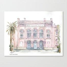 Gran Teatro Falla Canvas Print