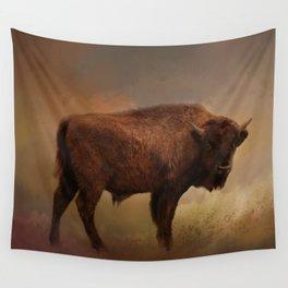 Buffalo Spirit Wall Tapestry