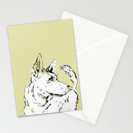Howl Along Stationery Cards