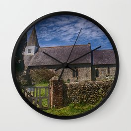 Litlington Church Wall Clock