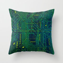 Tao Hacker Throw Pillow