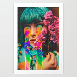 The Operation Of Changing  Art Print