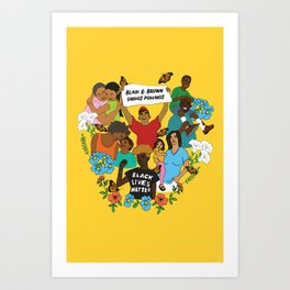 Diversity is Resistance Art Print