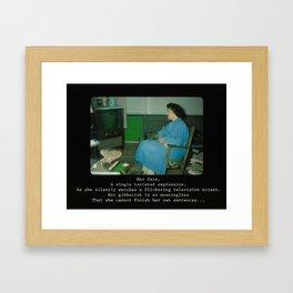 Silently Watching Framed Art Print