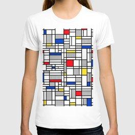 Map Lines Mond T-shirt