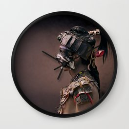 Indio Maya Wall Clock