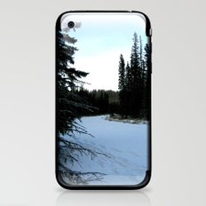 Wintertime in WaterValley iPhone & iPod Skin