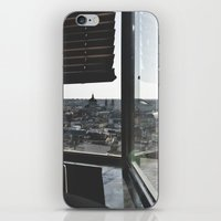 madrid iPhone & iPod Skins featuring Madrid by nmaquieira