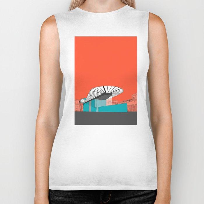 Turquoise Island Biker Tank