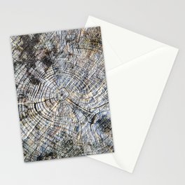 Old Tree Rings Stationery Cards