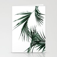 palms Stationery Cards featuring Palms by Rachel De Vita