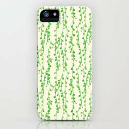 String of Pearls Pattern iPhone Case