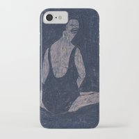 yoga iPhone & iPod Cases featuring yoga by Maybe Mary