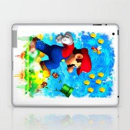 Super Mario Van Gogh style Laptop & iPad Skin