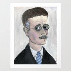 James Joyce Literary Portrait,