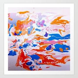 plastic wave Art Print