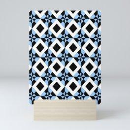 symetric patterns 6 -mandala,geometric,rosace,harmony,star,symmetry Mini Art Print