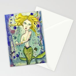 Amatheia - Gold Lotus Oracle Series Stationery Cards