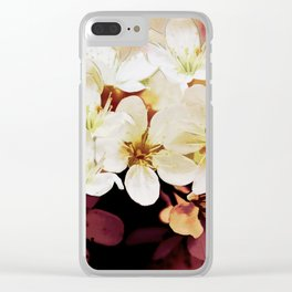 Blossom 06-18 Clear iPhone Case