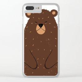 Hibernating Clear iPhone Case