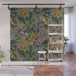 blooming flower botanical Wall Mural