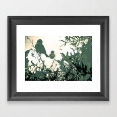 Alight Framed Art Print