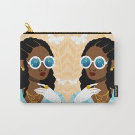Cornrows Hairstyle Carry-All Pouch