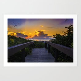 Florida 02 - World Big Beach Art Print