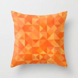 Orange Bulk Throw Pillow