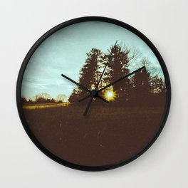 it was all a lie. Wall Clock