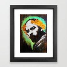 BRAVERY Framed Art Print