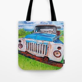 Beat up truck Tote Bag