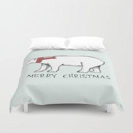 Christmas Polar Bear Duvet Cover