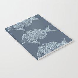 Blue Fish/es Notebook