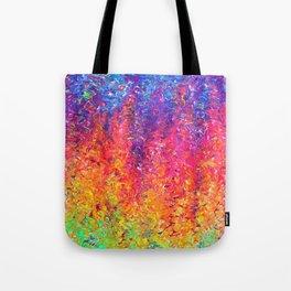 Fluoro Rain Tote Bag