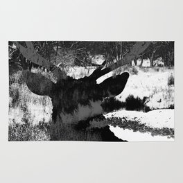 Stag in the Shadows Rug