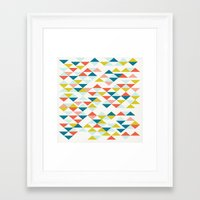 colombia Framed Art Prints featuring Colombia by Menina Lisboa