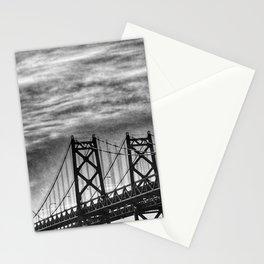 Iowa-Illinois Memorial Bridge - Close Up Stationery Cards