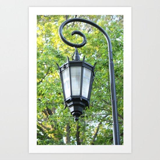 Spring Lamp Art Print