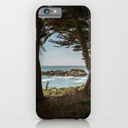 Sea Ranch Beach Lookout Printable Wall Art   California Nature Ocean Coastal Travel Photography Print iPhone Case