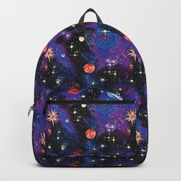 Out of This World Carpet Pattern Backpack