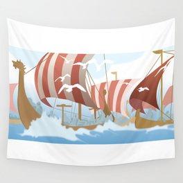 A Viking History No. 3 Wall Tapestry