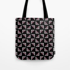 Squires with pink pattern Tote Bag