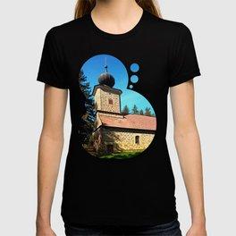 Maria Rast forest chapel 3 T-shirt