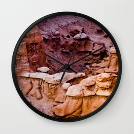 Goblin Valley Wall Clock
