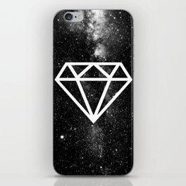 BLACK--DIAMOND iPhone Skin